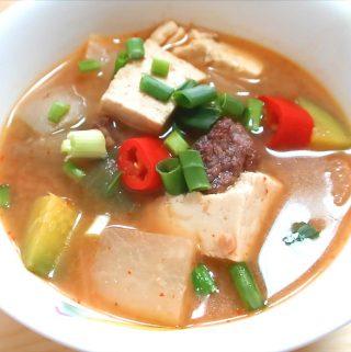 Korean Soybean Stew