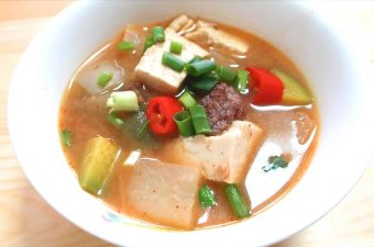 Korean Soybean Stew