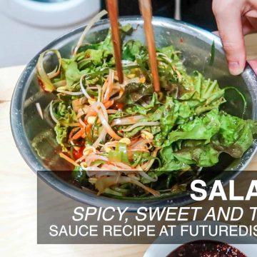 Korean BBQ Salad - Type A