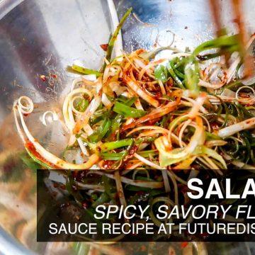 Korean BBQ Salad - Type B