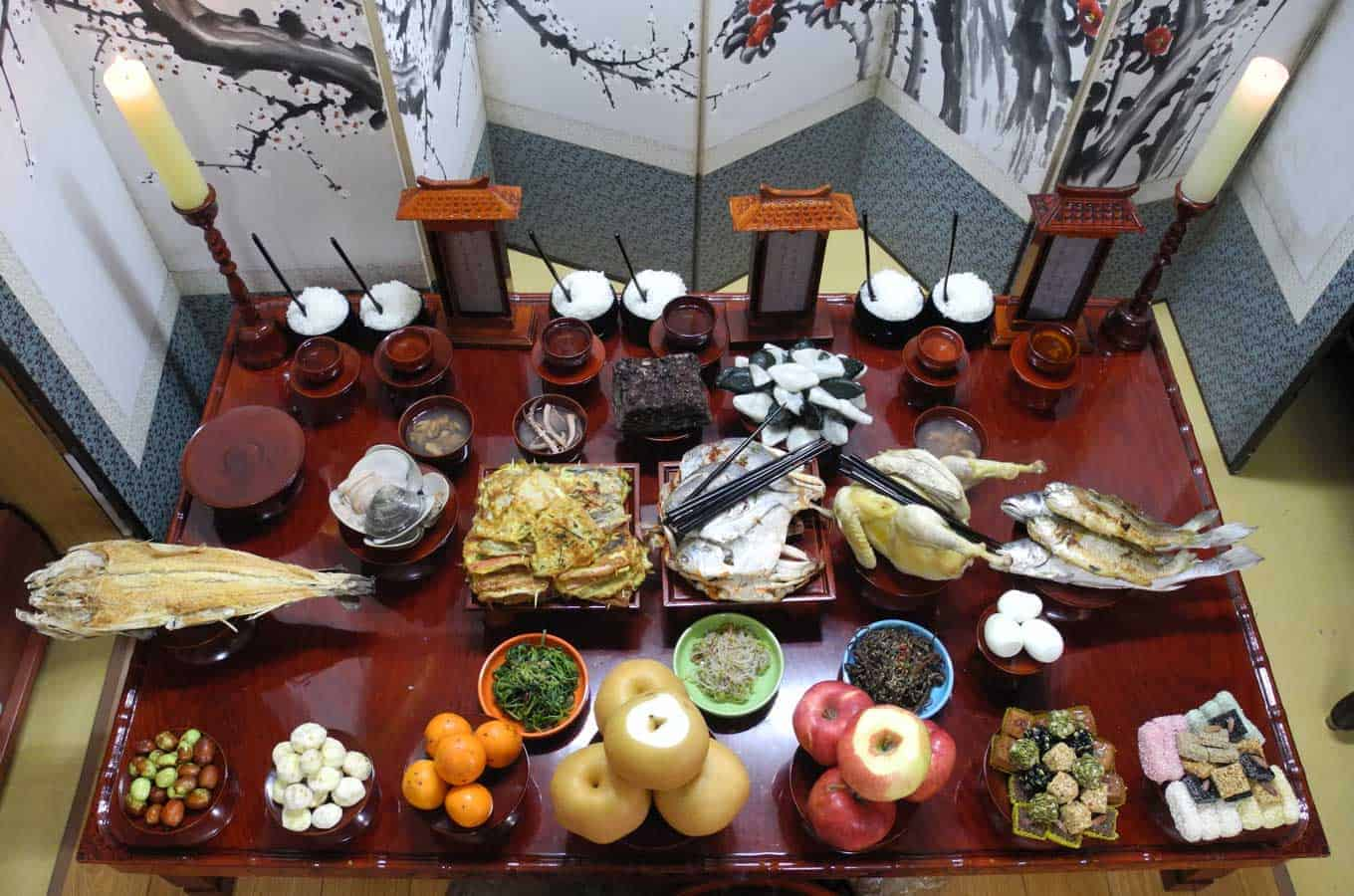Chuseok Table - Wikipedia
