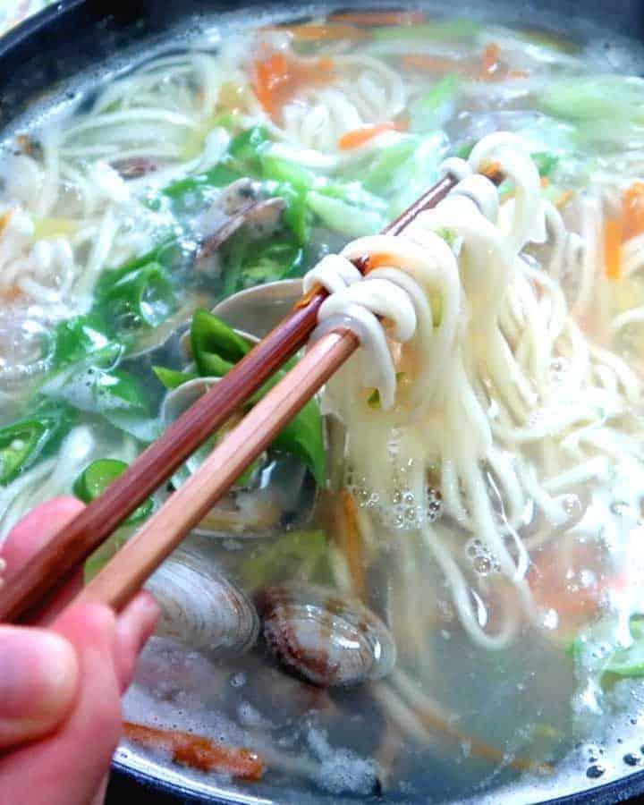 Kalguksu Noodles