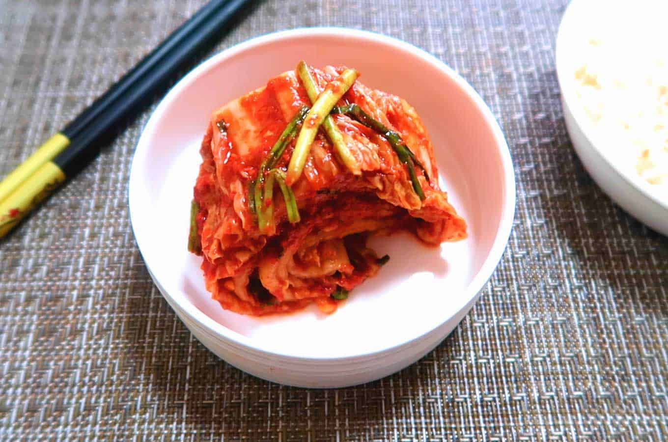 Kimchi: one of the best immunity building food recipes