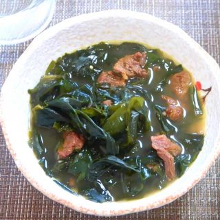 Korean Seaweed Soup