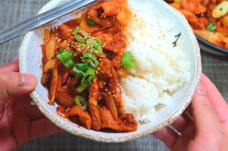 Spicy Pork Bulgogi