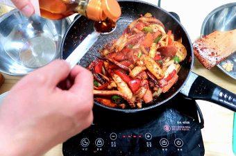 Stir-fried Squid
