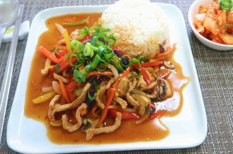 Bell Pepper Stirfry
