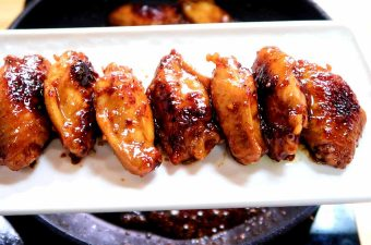 Maple Soy Sauce Wings