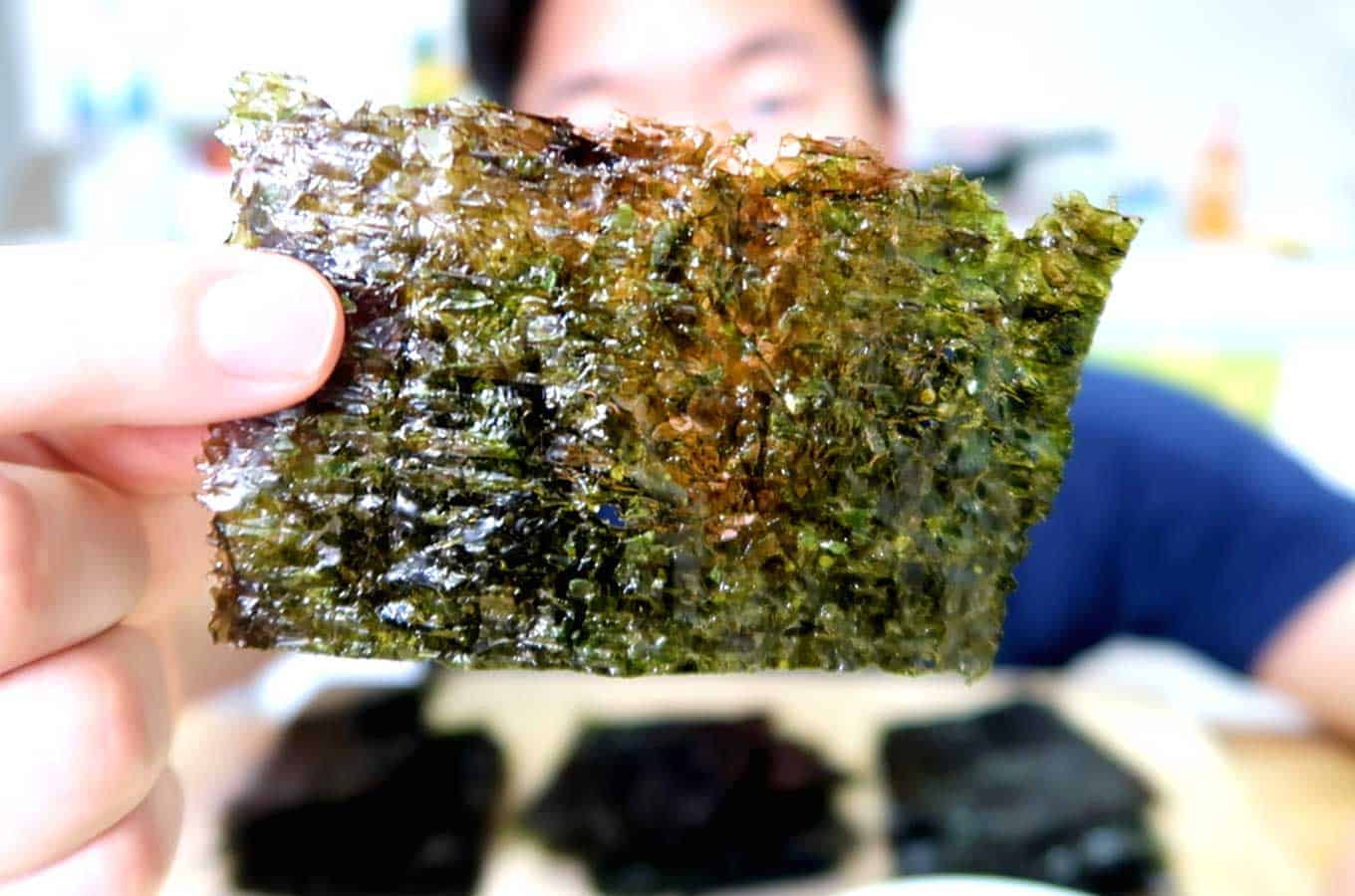 Roasted Seaweed Snack
