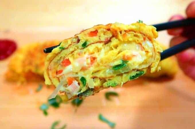 Rolled Egg Omelette