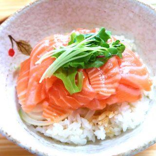 Salmon Donburi Bowls