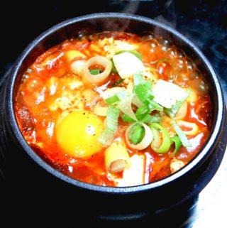 Korean Spicy Soft Tofu Stew - Soondubu