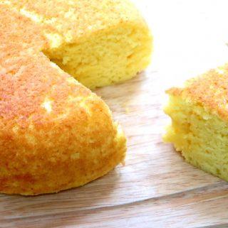 Rice Cooker Castella Cake