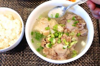 Korean Oxtail Soup - Kkori Gomtang