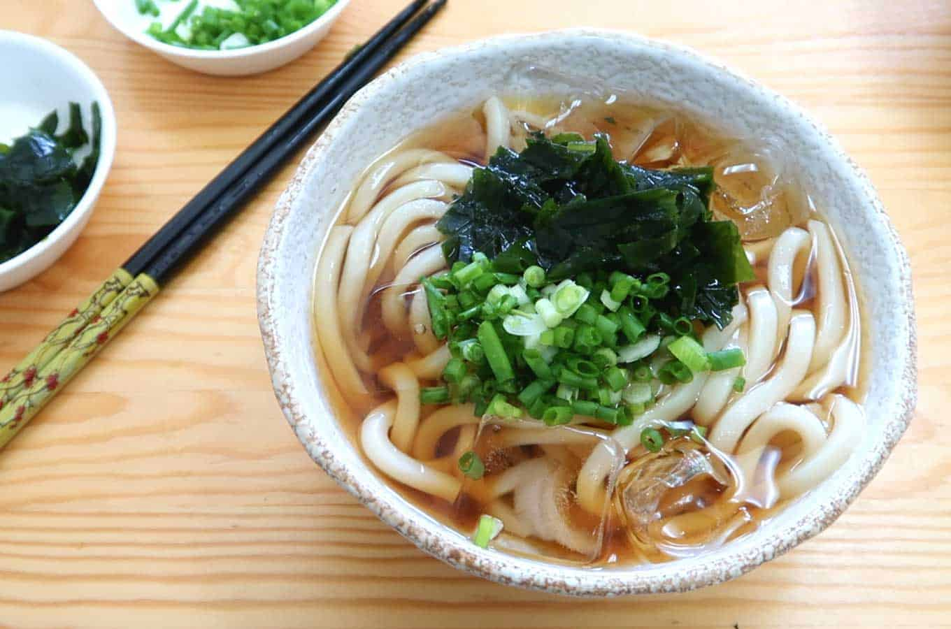 Cold Udon Noodles 2 Summer Recipes Futuredish