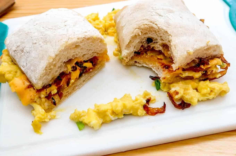 EggSlut Fairfax Sandwich