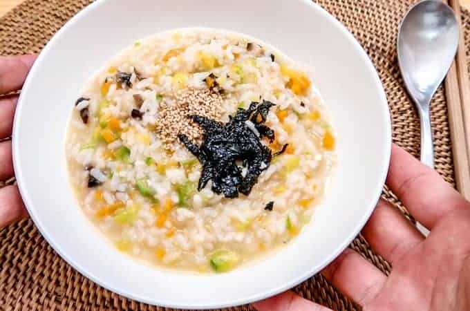 Korean Vegetable Porridge (Yachae Jook)