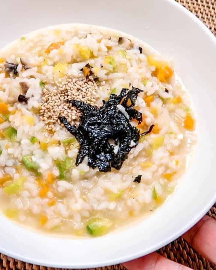 Korean Vegetable Porridge