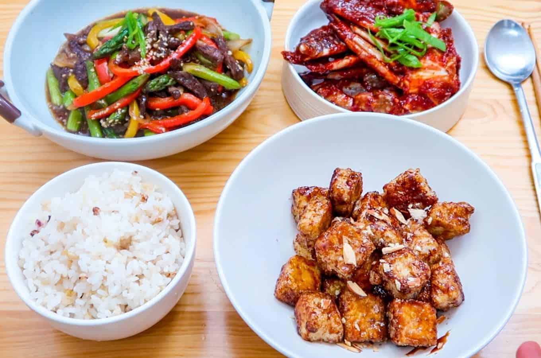 Dinner Banchans 5