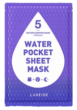 Water Pocket Sheet Mask
