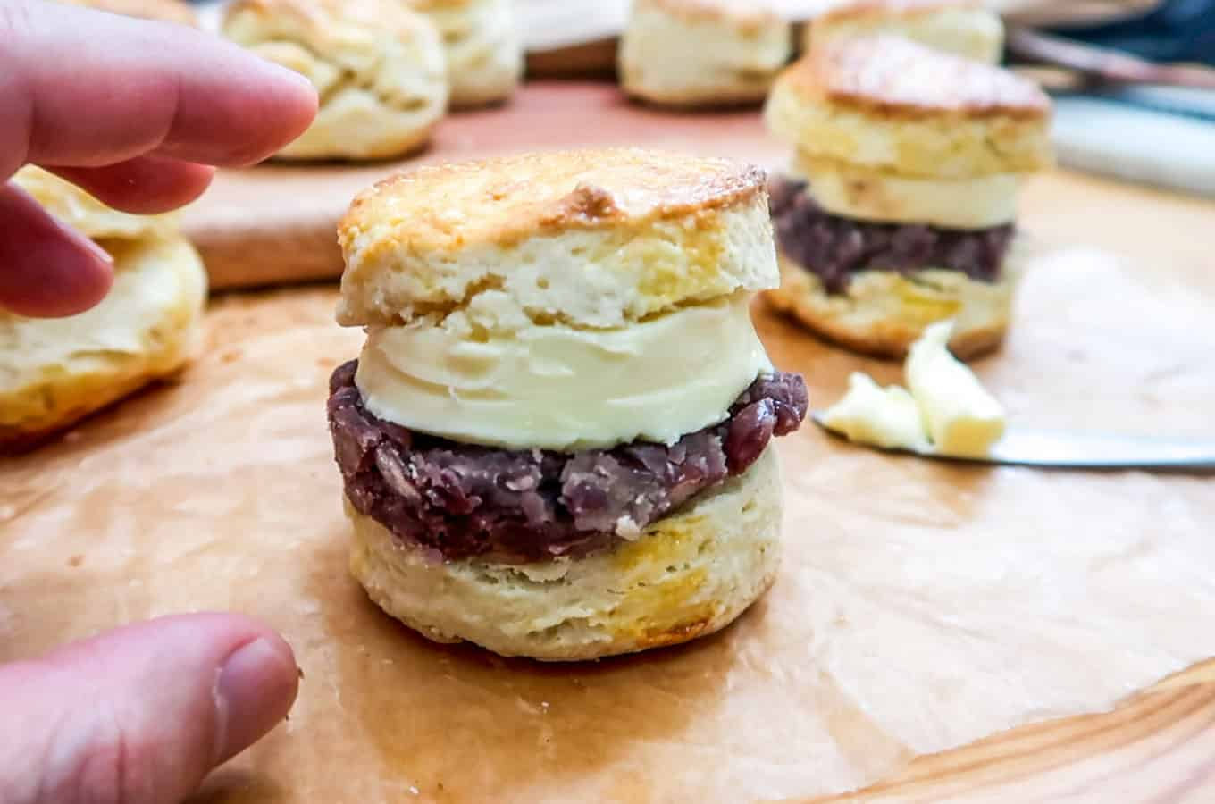Ang-Butter Scone