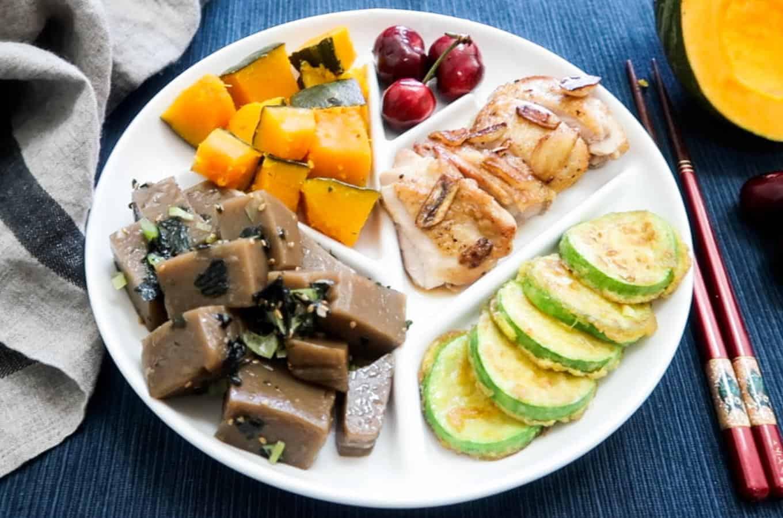 Korean Diet Plate