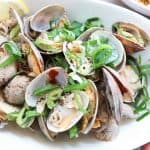 Soju Steamed Clams