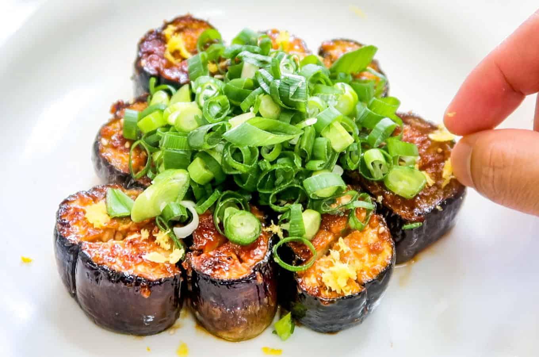 Korean-Doenjang-Eggplant