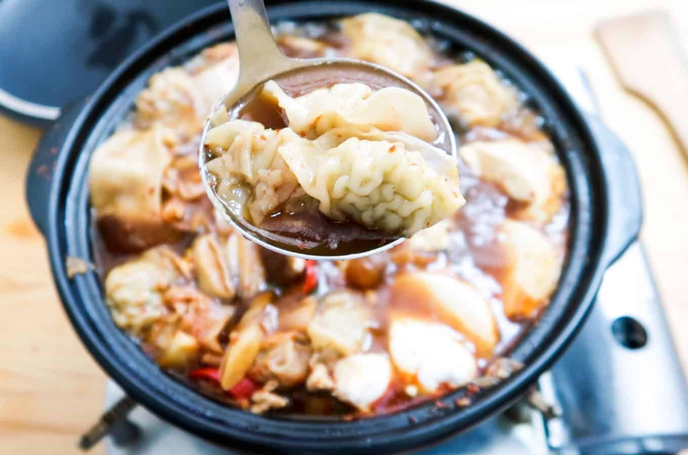Hot-Korean-Spicy-Dumpling-Soup
