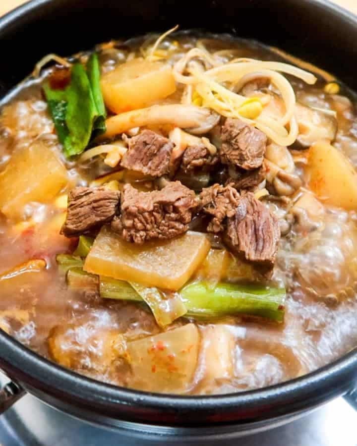 Korea Spicy Beef Radish Soup-2