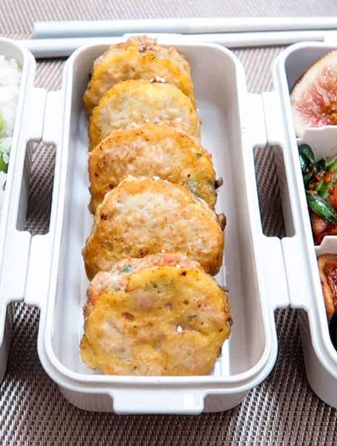 Fall Dosirak Korean Meatballs