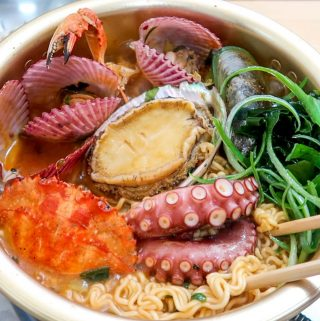Jeju Island Seafood Ramen
