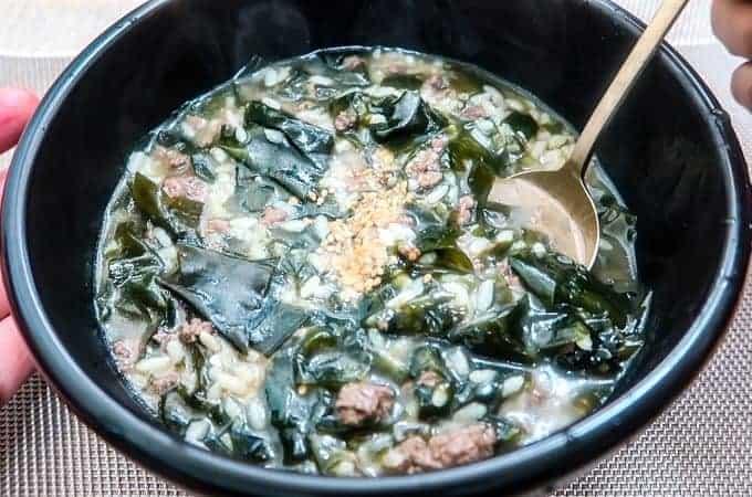 Miyeok Rice Porridge