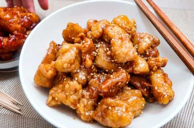 Dakgangjeong Chicken