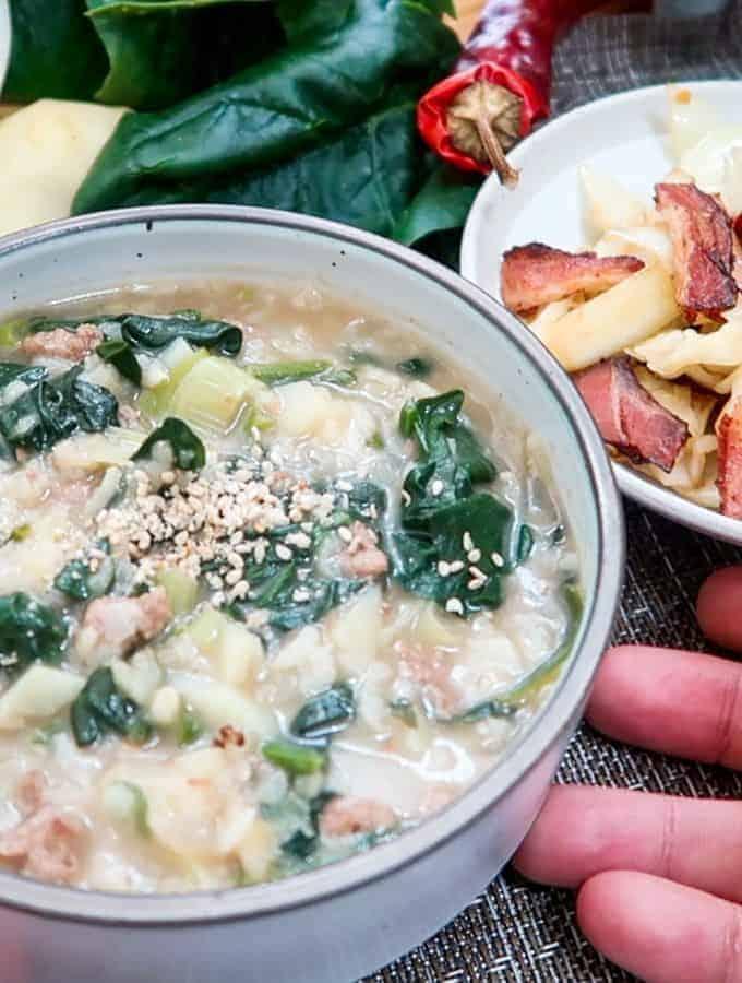 Korean-Spinach-Doenjang