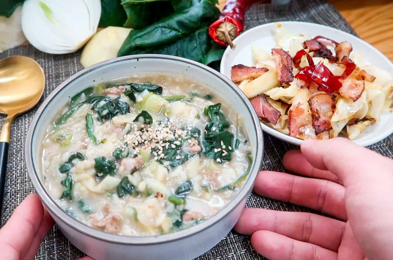 Korean-Spinach-Doenjang