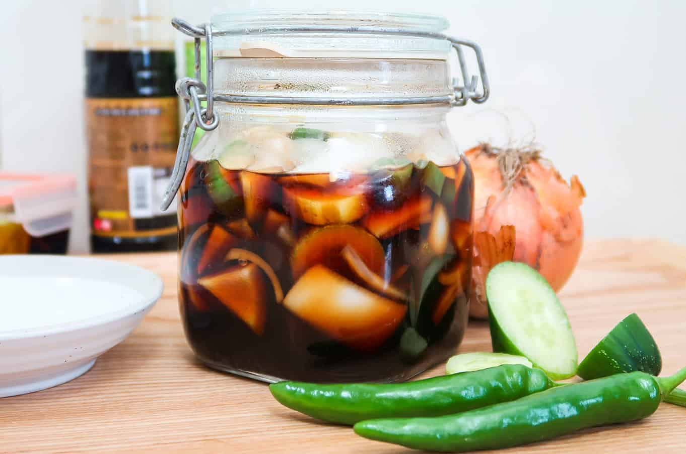 Korean Pickles - Jangajji