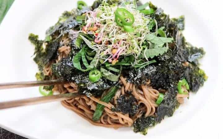 Perilla Soba Noodles