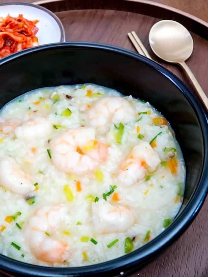 Korean Shrimp Porridge Juk