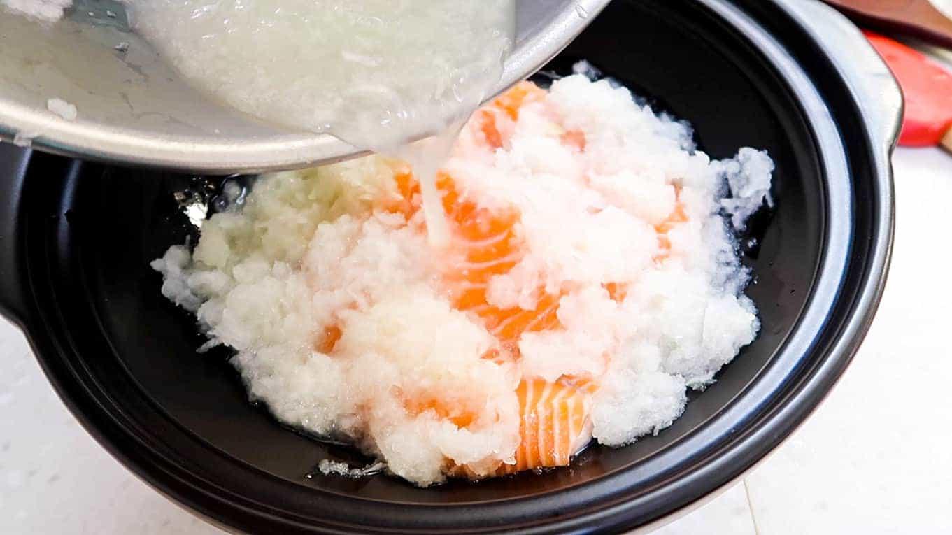 Salmon Grated Daikon