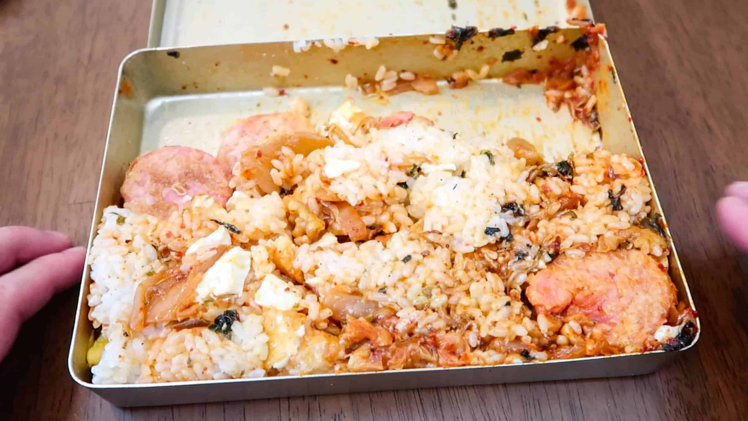 Korean Lunch Box - After Mixing