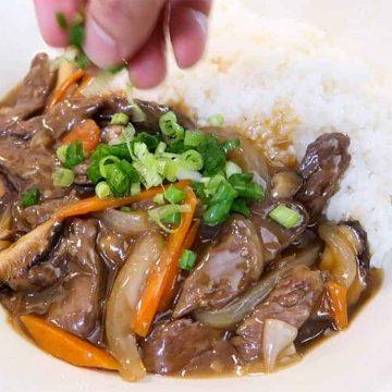 Korean Beef & Shiitake Mushroom