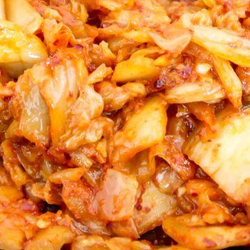 Korean Fried Kimchi