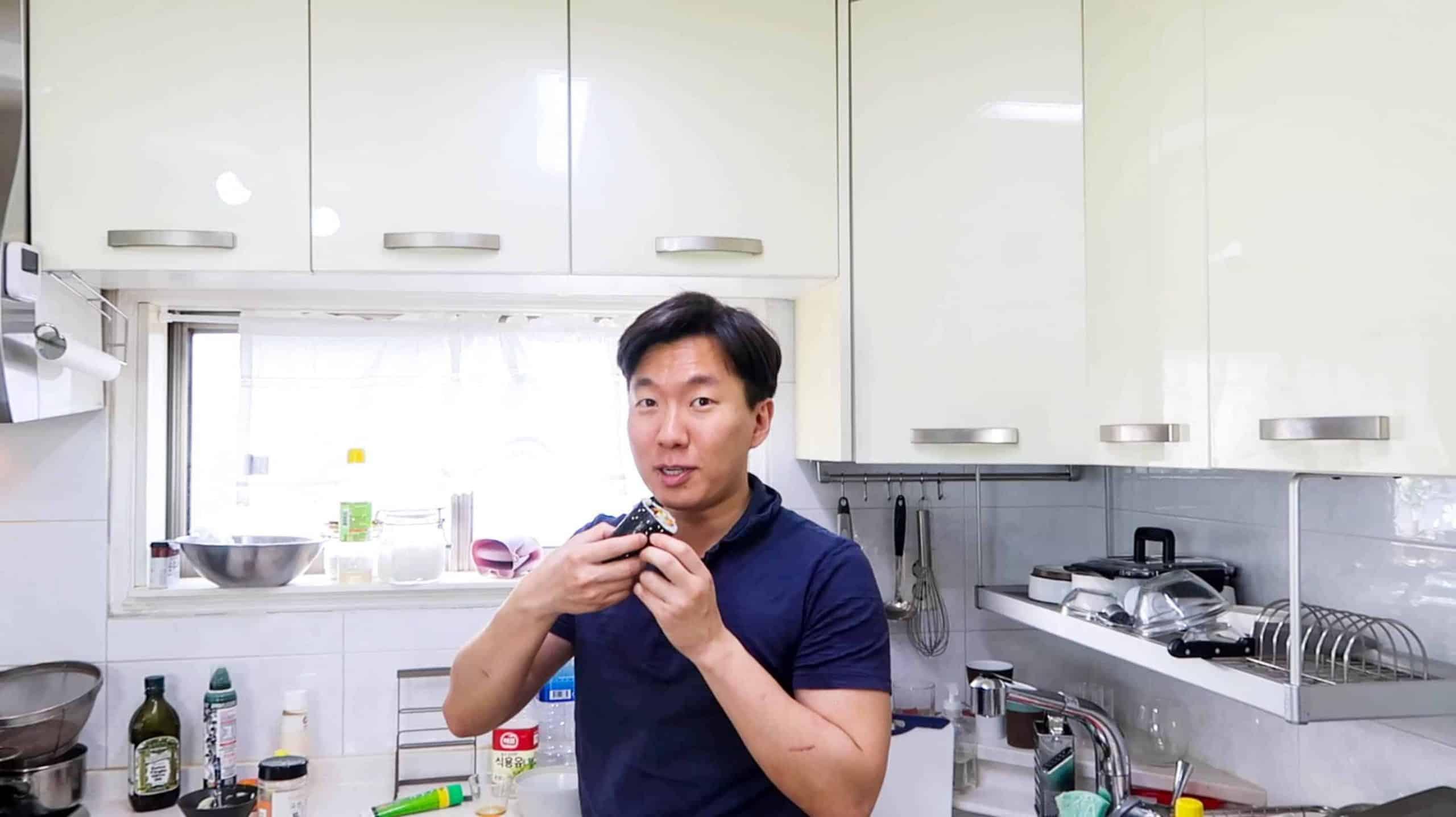 Shrimp Kimbap - Instructions