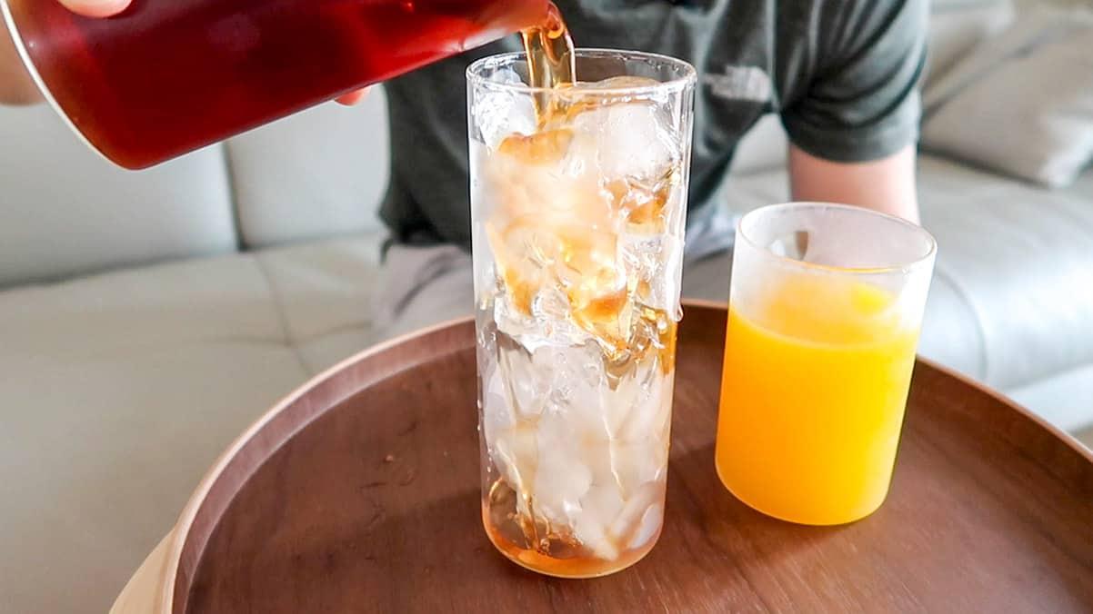 Iced Mango Ceylon Tea