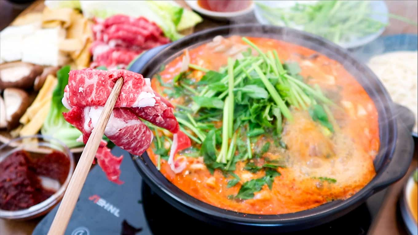 Korean Shabu Shabu - Spicy Full Set Menu! – FutureDish