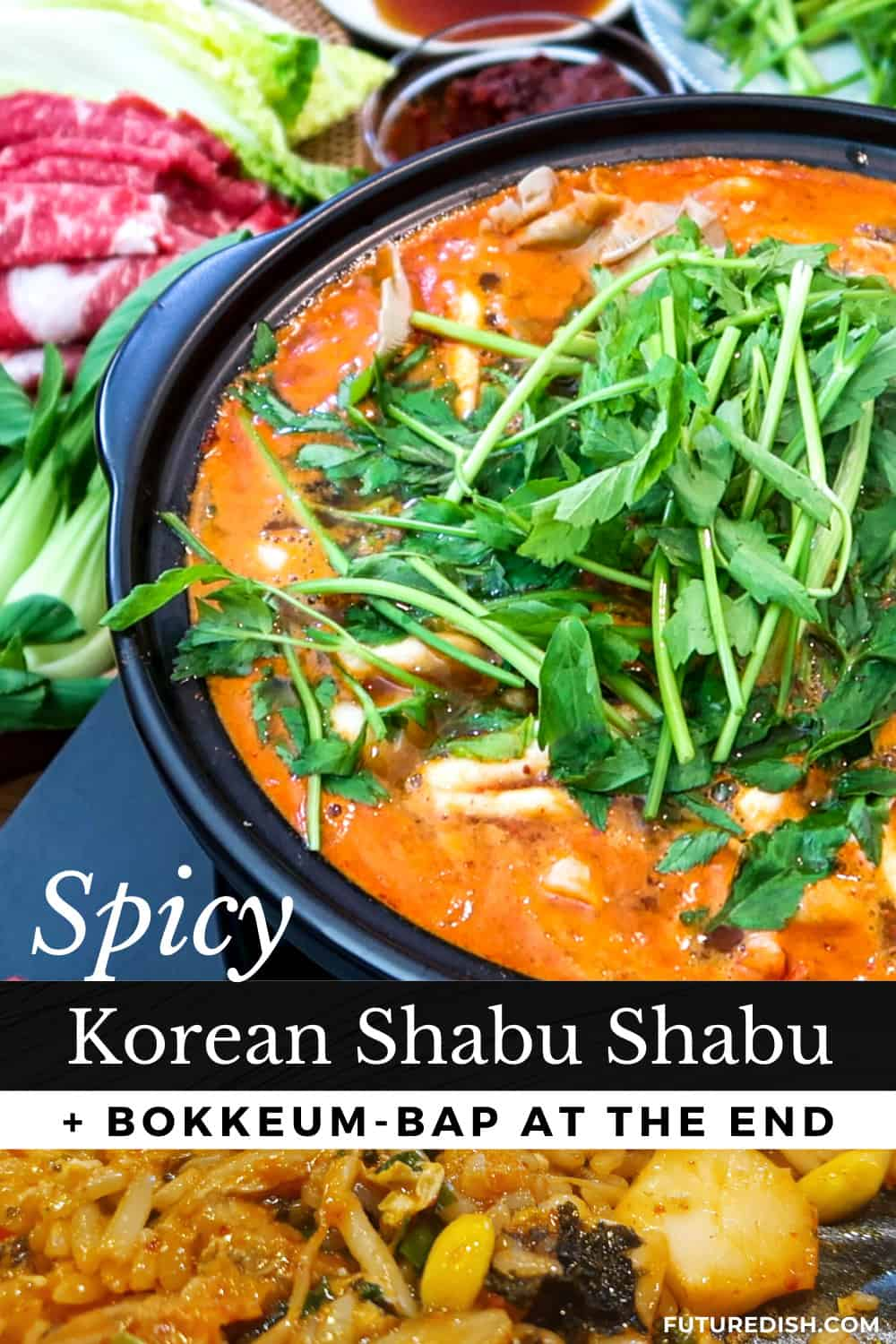 Korean Shabu Shabu - Pinterest
