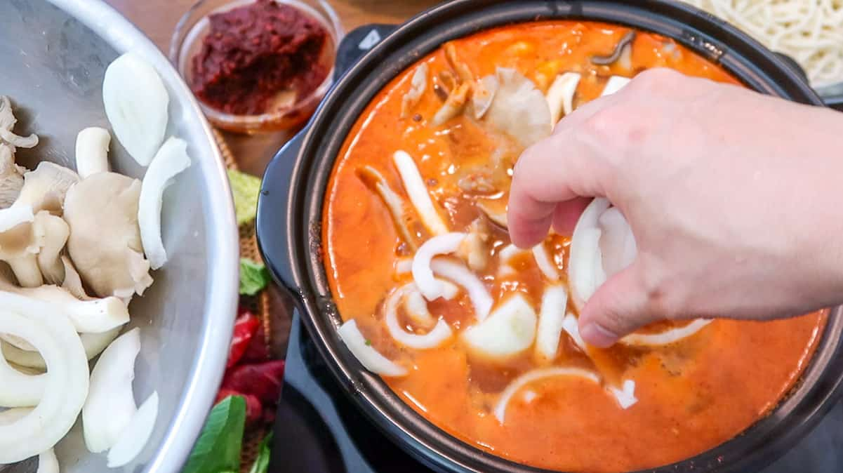 Korean Shabu Shabu Spicy