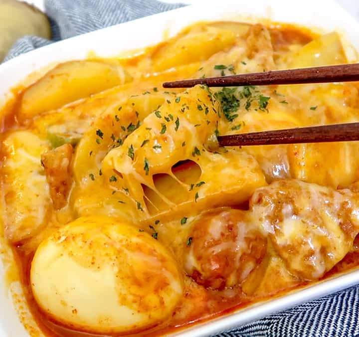 Potato Tteokbokki
