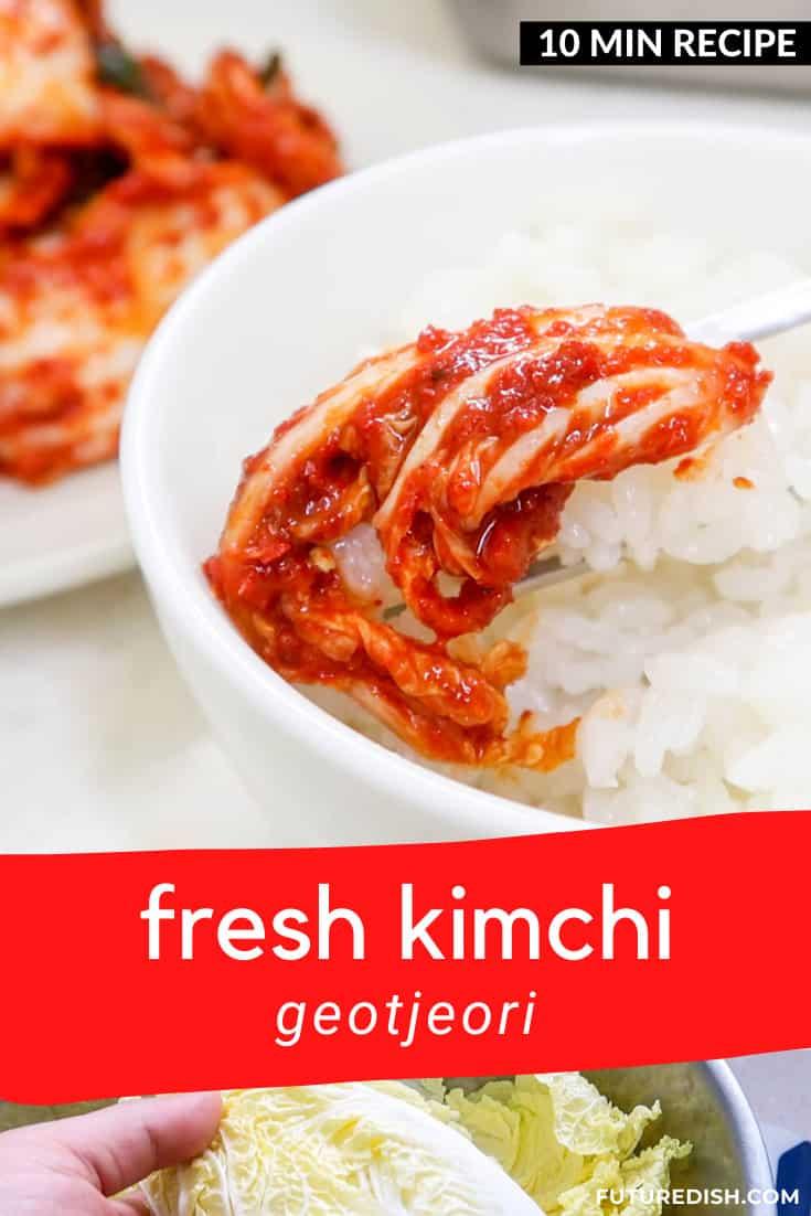 Fresh Kimchi Geotjori